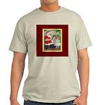 Traditional Santa With Children Light T-Shirt