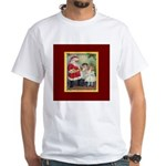 Traditional Santa With Children White T-Shirt