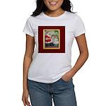 Traditional Santa With Children Women's T-Shirt