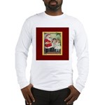 Traditional Santa With Children Long Sleeve T-Shir