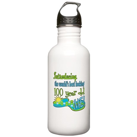 Best Looking 100th Stainless Water Bottle 1.0L