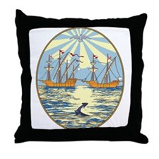 Buenos Aires Coat of Arms Throw Pillow