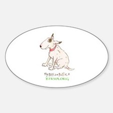 Bull Terrier Rescue Decal