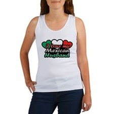 I Love My Mexican Husband Women's Tank Top