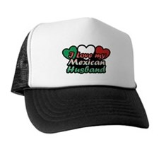 I Love My Mexican Husband Hat