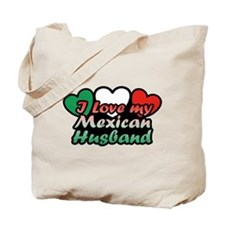 I Love My Mexican Husband Tote Bag