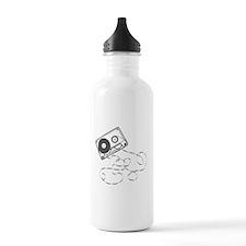 Casette Tape Water Bottle
