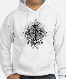 Cancer Prayer Cross Jumper Hoody