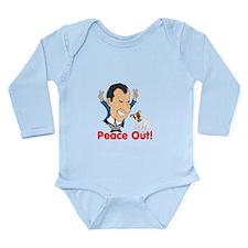 President Nixon and JRT Peace Long Sleeve Infant B