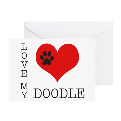 Love My Doodle Greeting Cards (Pk of 10)