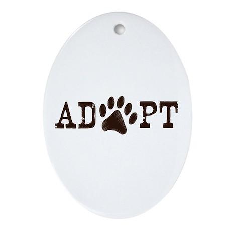 Adopt an Animal Ornament (Oval)