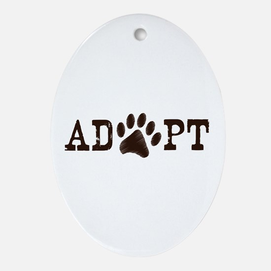 Adopt an Animal Ornament (Oval)