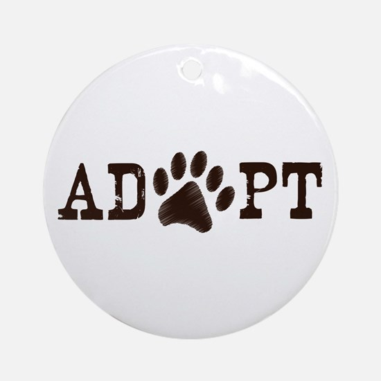 Adopt an Animal Ornament (Round)