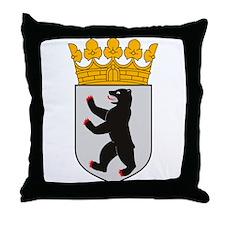 Berlin Coat of Arms Throw Pillow
