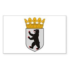 Berlin Coat of Arms Rectangle Decal
