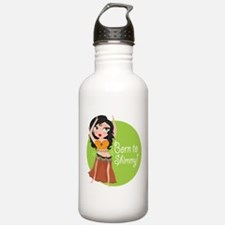 Born to Shimmy! Water Bottle