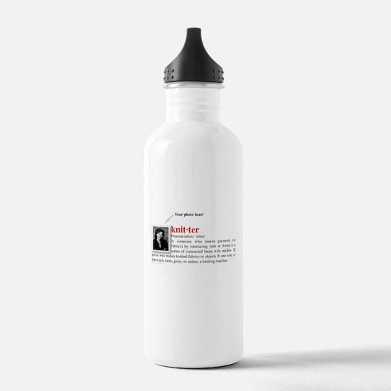 Definition of a Knitter Water Bottle