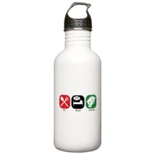 Eat Sleep Gamble Water Bottle