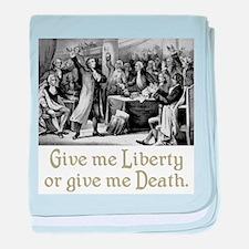 Give me Liberty... baby blanket