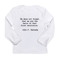 we are the heirs Long Sleeve Infant T-Shirt