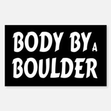 Body by Boulder Rectangle Decal