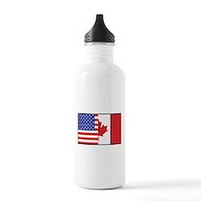 USA/Canada Sports Water Bottle