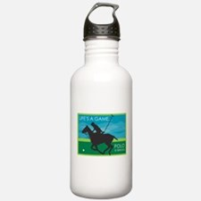 Life's a Game..Polo is SERIOU Water Bottle