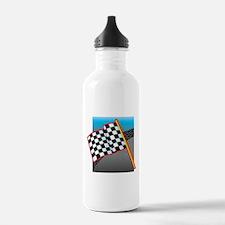 Checkered Flag Water Bottle