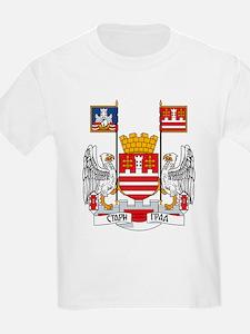 Belgrade Coat of Arms Kids T-Shirt