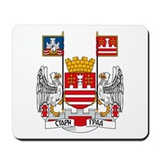 Belgrade Coat of Arms Mousepad
