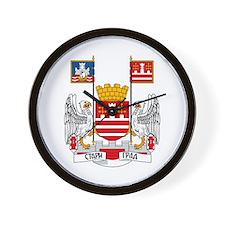 Belgrade Coat of Arms Wall Clock