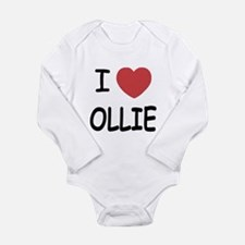 I heart Ollie Long Sleeve Infant Bodysuit