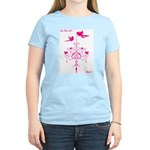 Let There Be Pink! Women's Pink T-Shirt