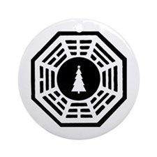 LOST Christmas Ornament (Round)
