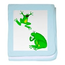 frogs baby blanket