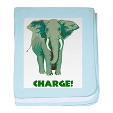 CHARGE! baby blanket
