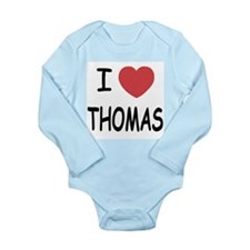 I heart Thomas Long Sleeve Infant Bodysuit