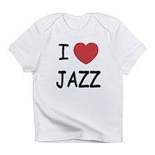 I heart jazz Infant T-Shirt