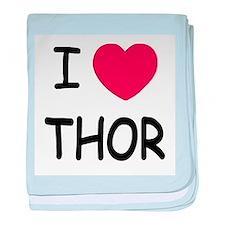 I heart Thor baby blanket