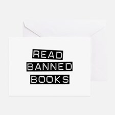 Read Banned Books Greeting Cards (Pk of 10)