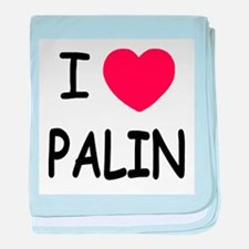 I heart Palin baby blanket