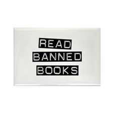 Read Banned Books Rectangle Magnet (10 pack)