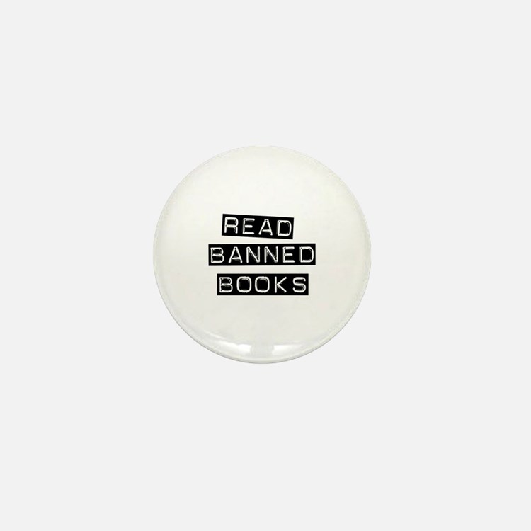 Read Banned Books Mini Button (10 pack)