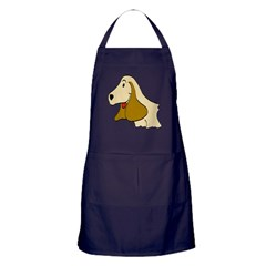 Cartoon Cocker Spaniel Apron (dark)