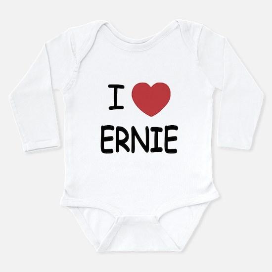 I heart Ernie Long Sleeve Infant Bodysuit