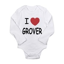 I heart Grover Baby Outfits