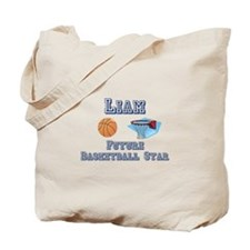Liam - Future Basketball Star Tote Bag