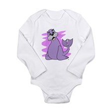 Sealy Sea Lion Long Sleeve Infant Bodysuit
