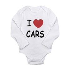love cars Long Sleeve Infant Bodysuit