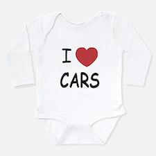 love cars Long Sleeve Infant Bodysuit